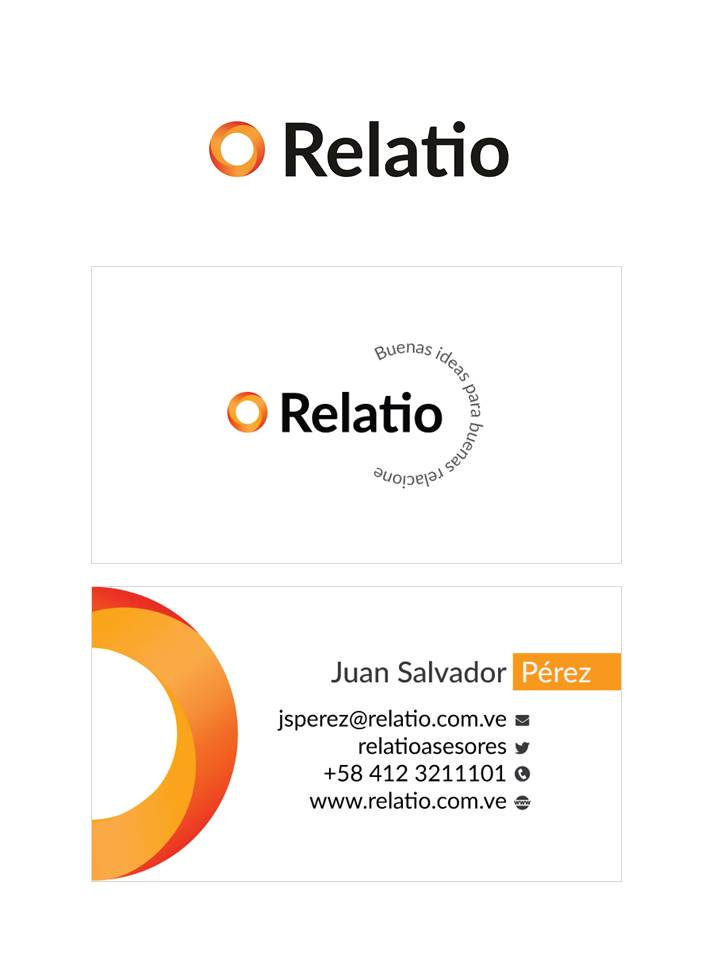 Business card for Relatio