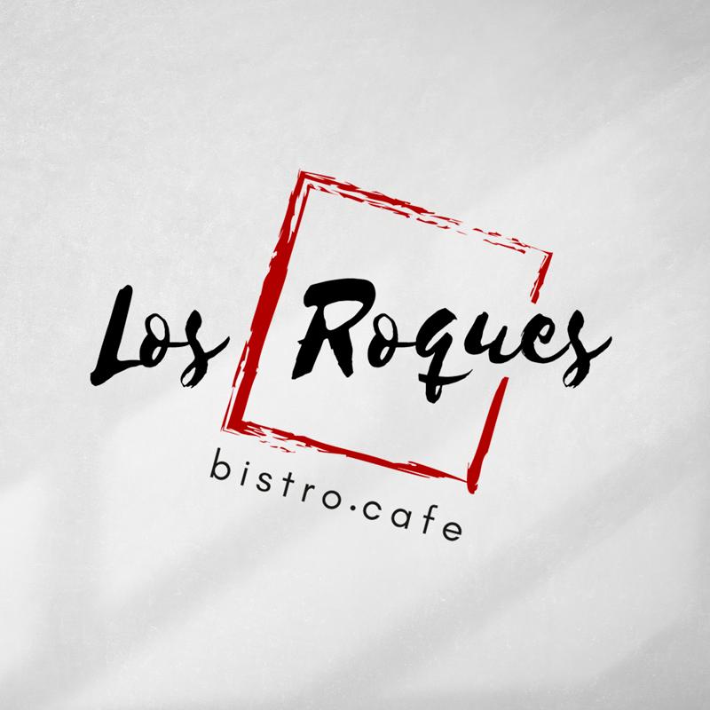 Logo para Los Roques Bistro Café